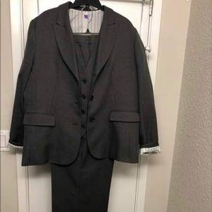 3 piece dress pant, vest and blazer set
